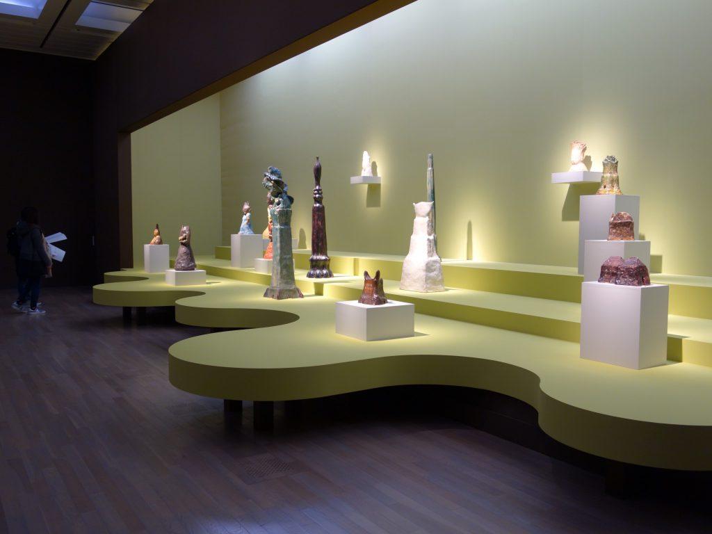 """イケムラレイコ IKEMURA Leiko exhibition 「土と星」 """"Earth & Stars"""" @ 国立新美術館 The National Art Center, Tokyo、「有機と無機」""""Organic and Inorganic"""""""