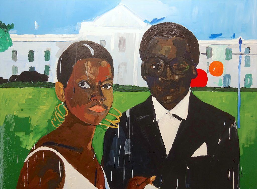 ヘンリー・テイラー-Cicely-and-Miles-Visit-the-Obamas