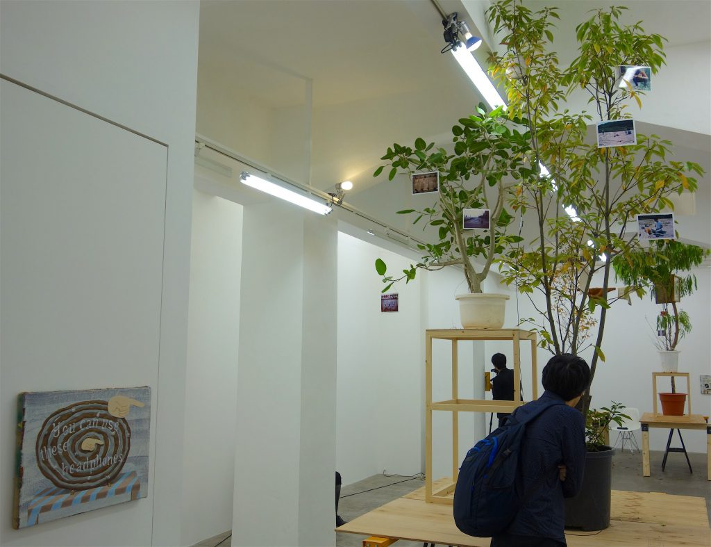 千葉正也 CHIBA Masaya 「jointed tree gallery #4 角田俊也 個展」千葉正也が企画した、角田俊也が作家として作品を発表する以前の作品を見せる展覧会。作品詳細は別紙参照 (Part A)