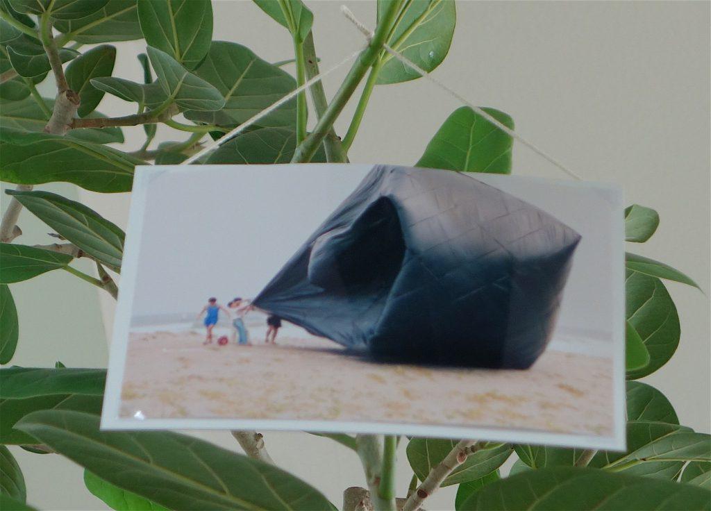 千葉正也 CHIBA Masaya 「jointed tree gallery #4 角田俊也 個展」千葉正也が企画した、角田俊也が作家として作品を発表する以前の作品を見せる展覧会。detail1