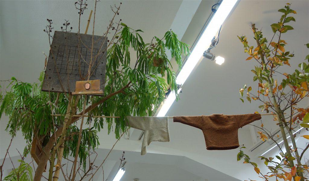千葉正也 CHIBA Masaya 「jointed tree gallery #5 井出賢治、陳楚翹 (BUNCH) 「hello baby」」detail1