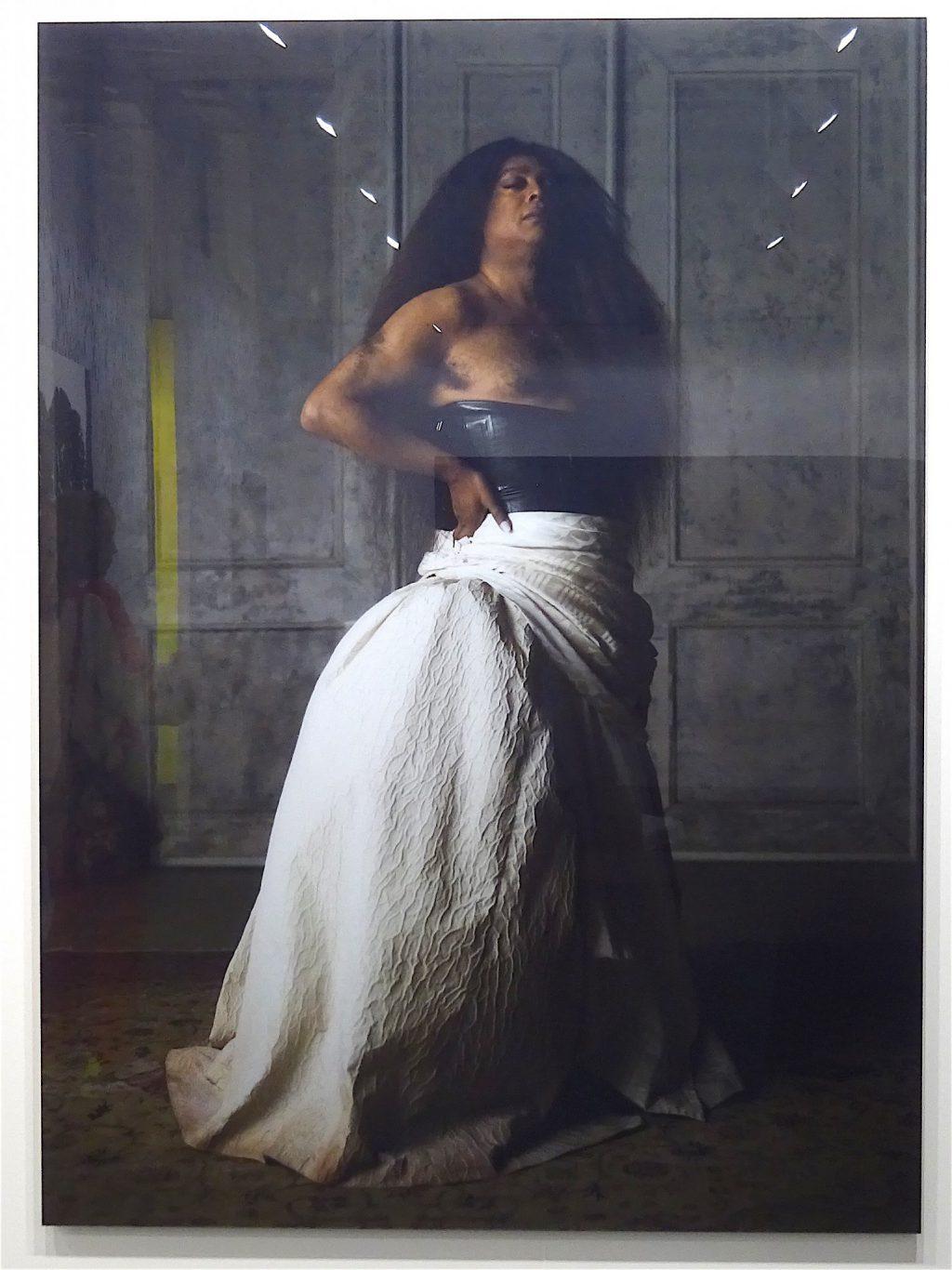 "Artur Jafa ""La Scala"" 2018, Epson fine art print face-mounted to Diasec, acrylic on aluminum panel, 198.1 x 144.8 x 2.5 cm, Edition of 5 with 2 APs @ Gavin Brown Enterprise"