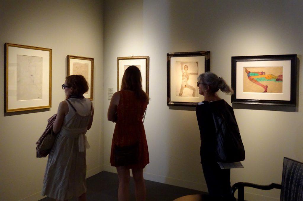 Egon Schiele works @ Richard Nagy
