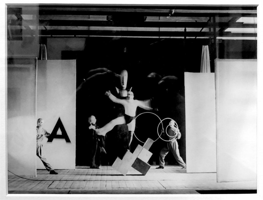 Irene Bayer, Bauhaus Stage (Oscar Schlemmer costumes) 1927