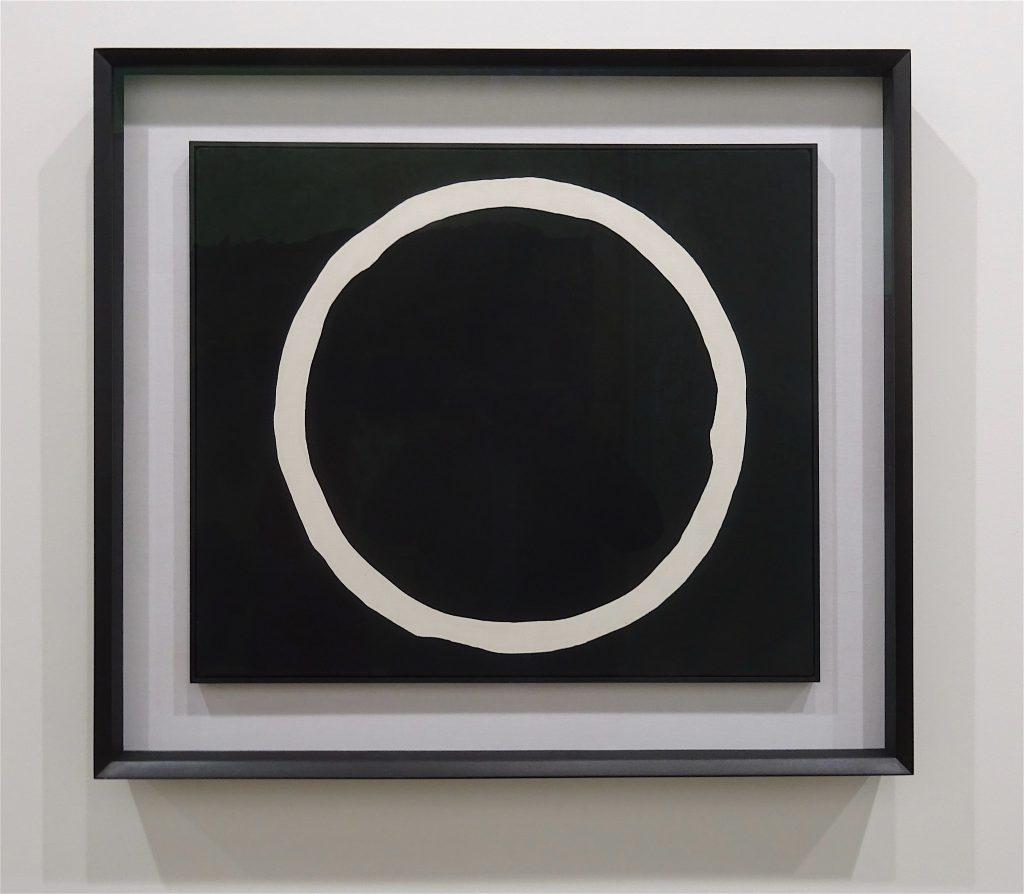 "Jiro Yoshihara ""Untitled"" Oil on canvas, 46.4 x 54 cm @ Fergus McCaffrey"