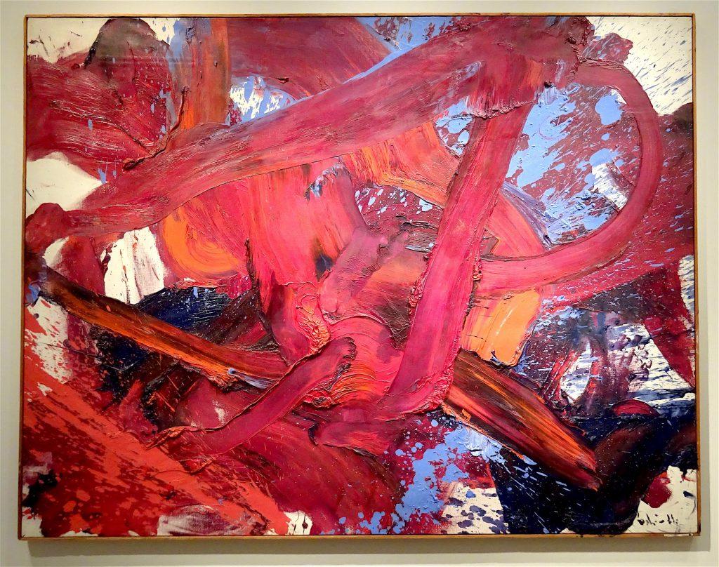 """Kazuo Shiraga """"Untitled"""" 1958 @ Lévy Gorvy"""