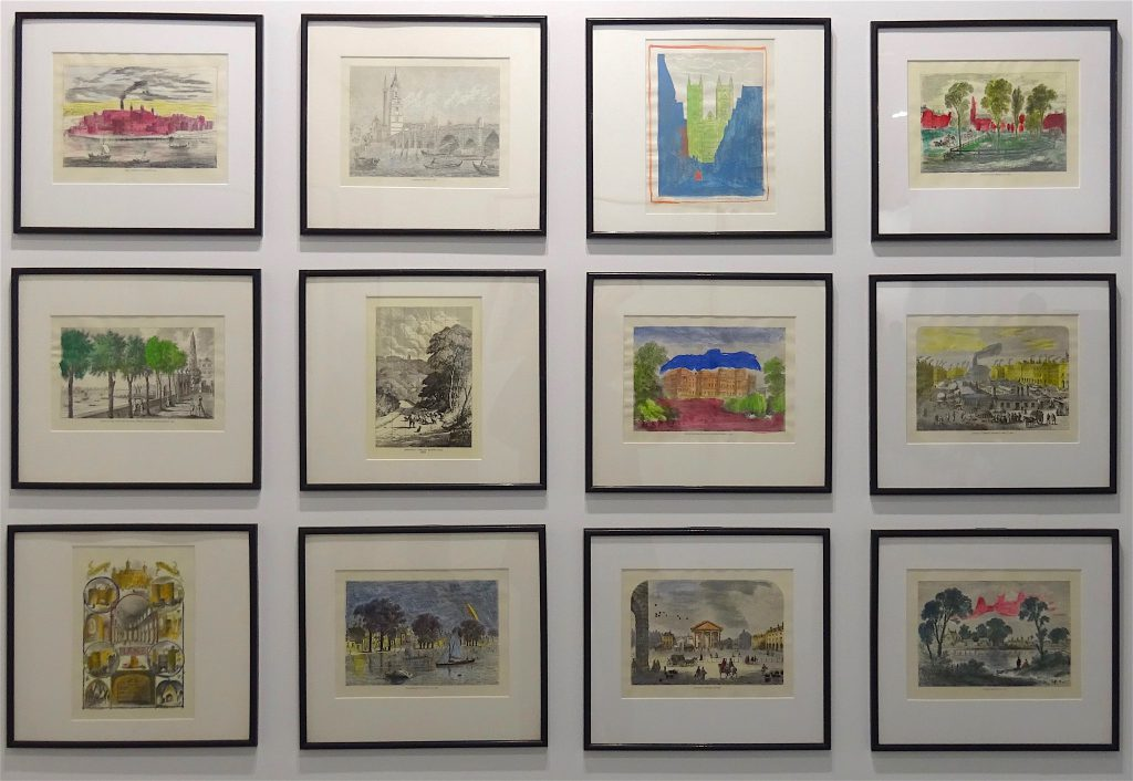 "Marcel Broodthaers ""Twelve hand colored engravings"" 1974, Set of 12 hand colored engravings, 33 x 36.8 cm each @ Marian Goodman"