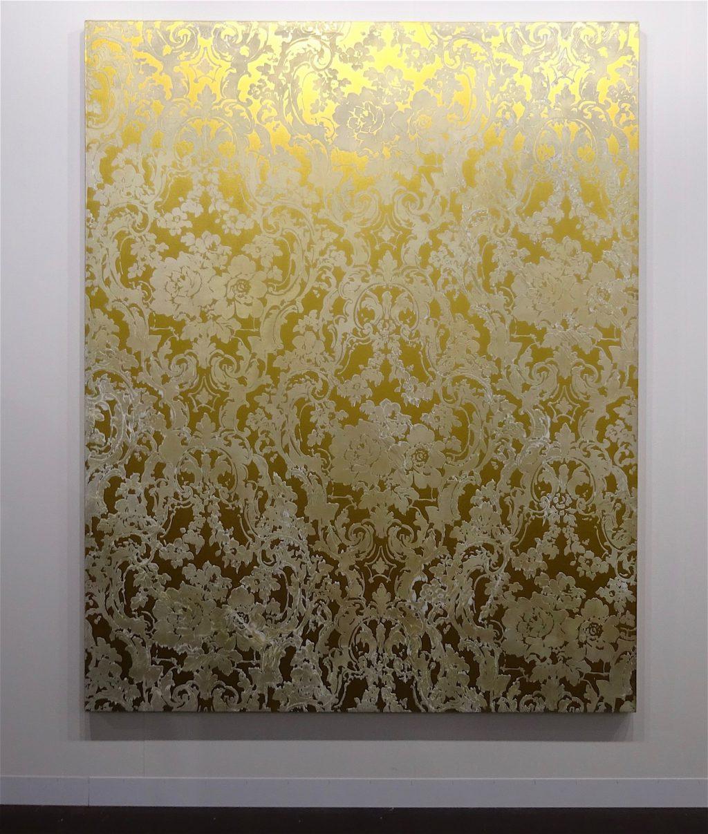 "Rudolf Stingel ""Untitled"" 2007, Oil and enamel on canvas, 242 x 193 cm WHITE CUBE"