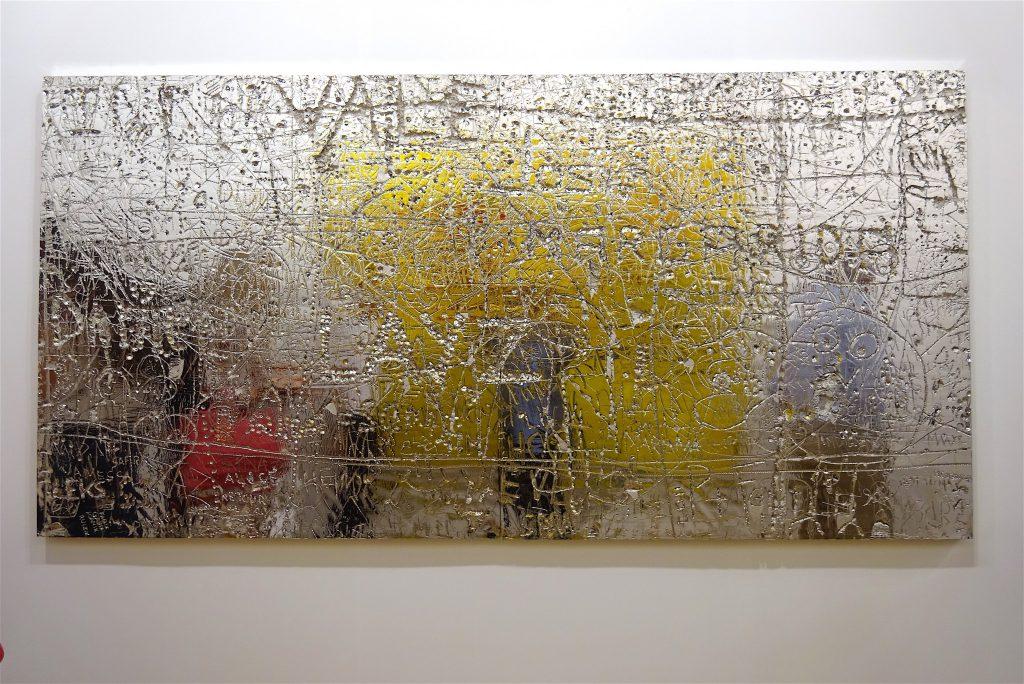 """Rudolf Stingel """"Untitled"""" Gagosian"""