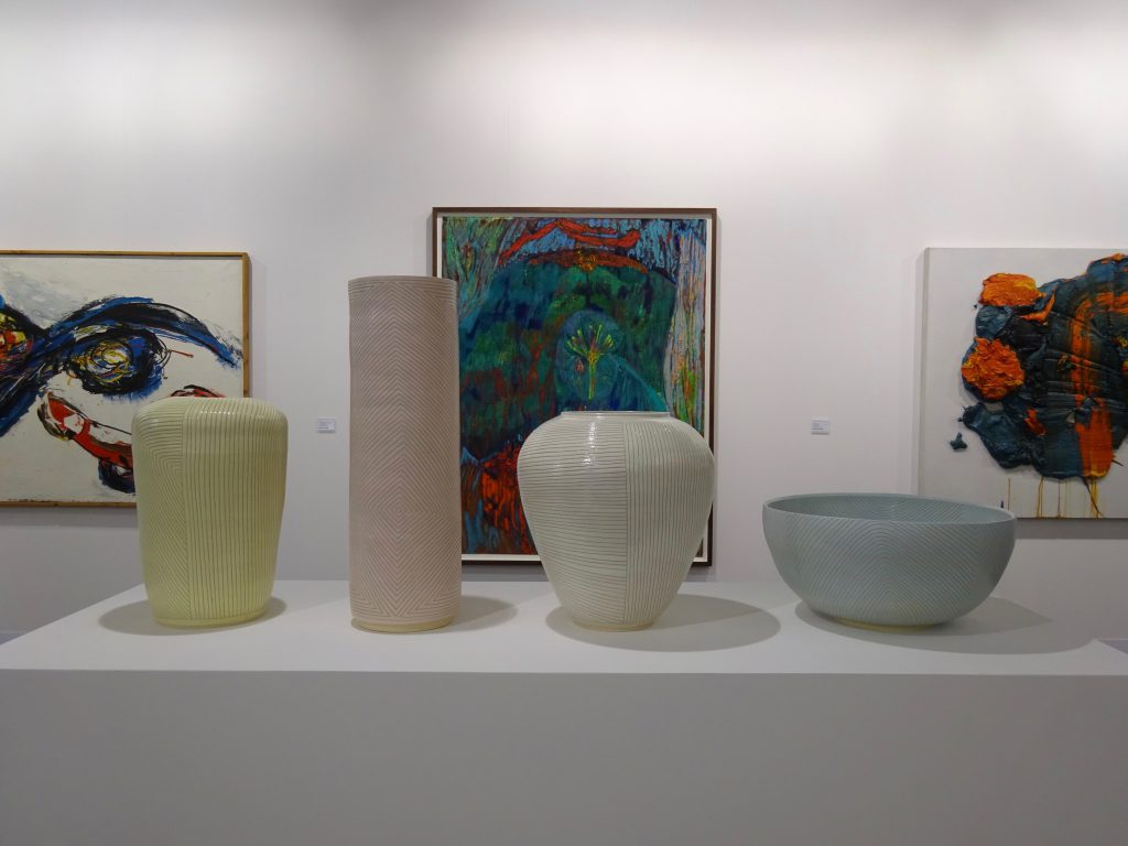 Shio Kusaka, 4 new stonewares from 2017 and 2018 @ Blum & Poe