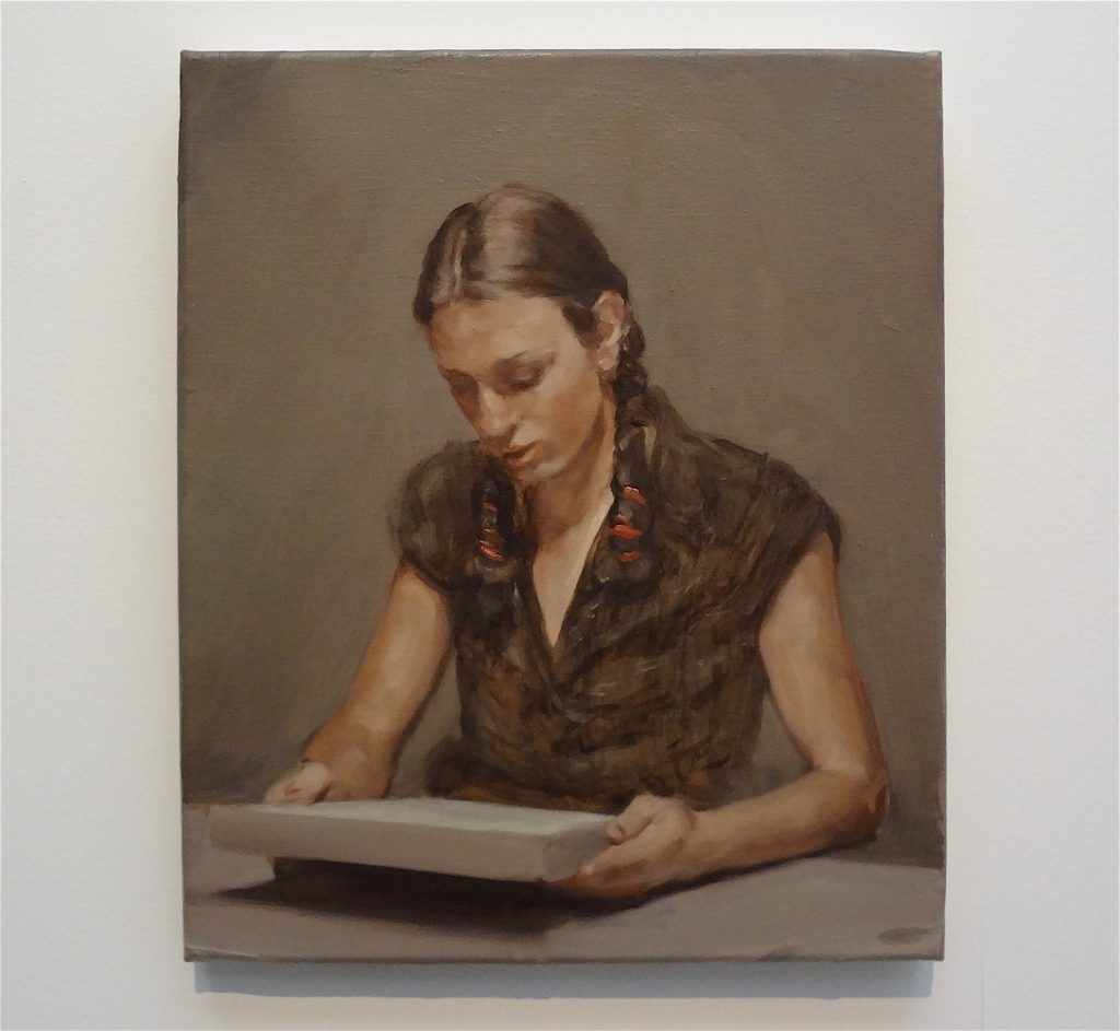 "ミヒャエル・ボレマンス Michaël Borremans ""The Trees"" 2008, oil on canvas"