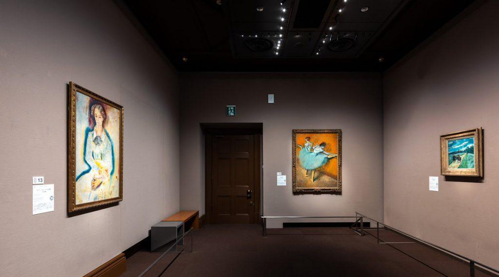 フィリップス・コレクション展示風景、@三菱一号館美術館