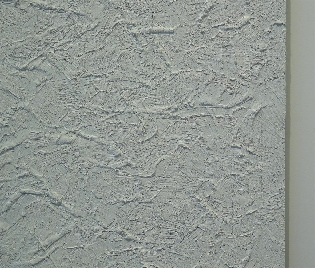 "ロバート・ライマン・Robert Ryman ""Concert 1"" 1986, Oil on mylar, 