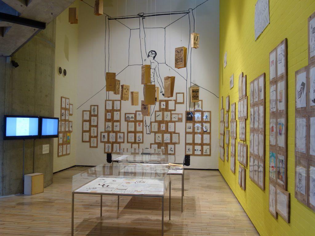 浅野忠信 TADANOBU ASANO 3634展 @ ワタリウム美術館、installation view 1