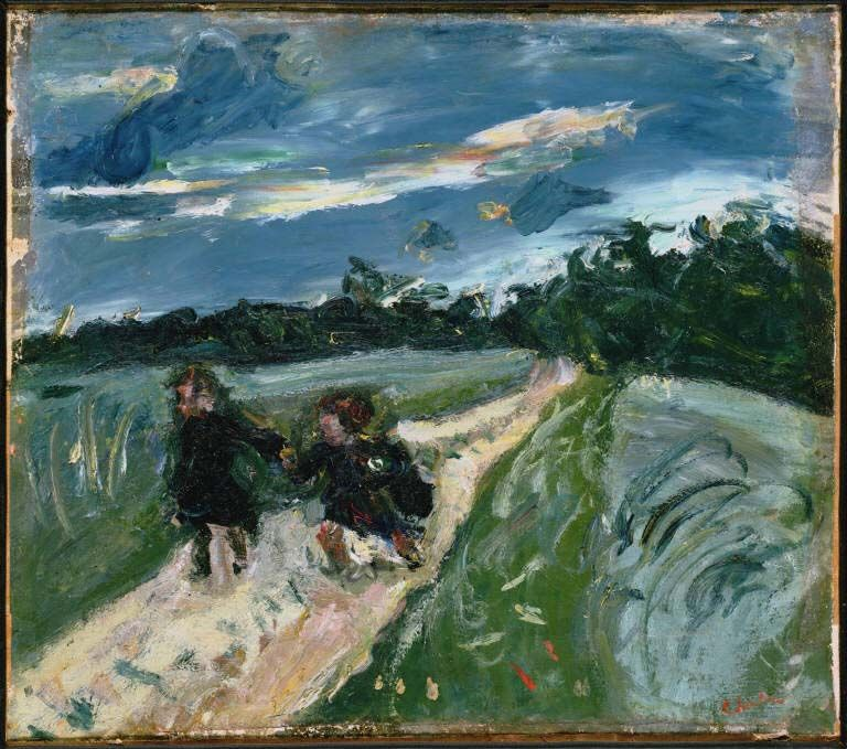 Chaïm Soutine_Return_from_School_after_the_Storm_1939
