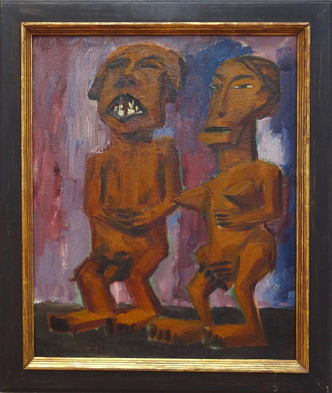 """Emil Nolde """"Exotische Figuren"""" 1912"""