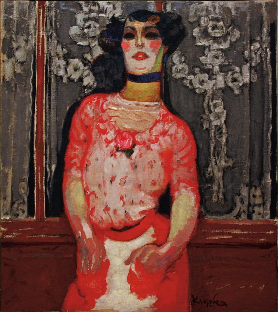 Frantisek Kupka Gallien's Girl 1909-10