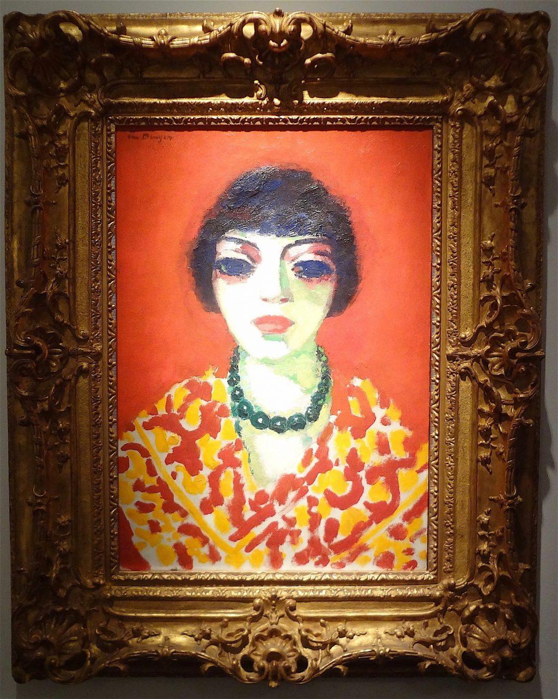 """Kees Van Dongen """"La femme au collier vert"""" 1906"""