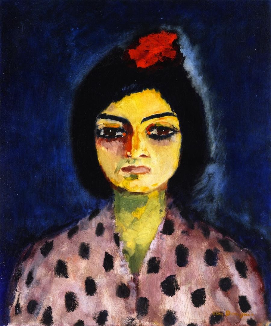 Kees Van Dongen Portrait of a Gypsy 1910