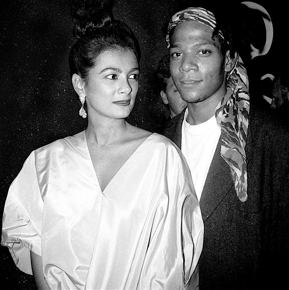 Mary Boone + Jean-Michel Basquiat1984