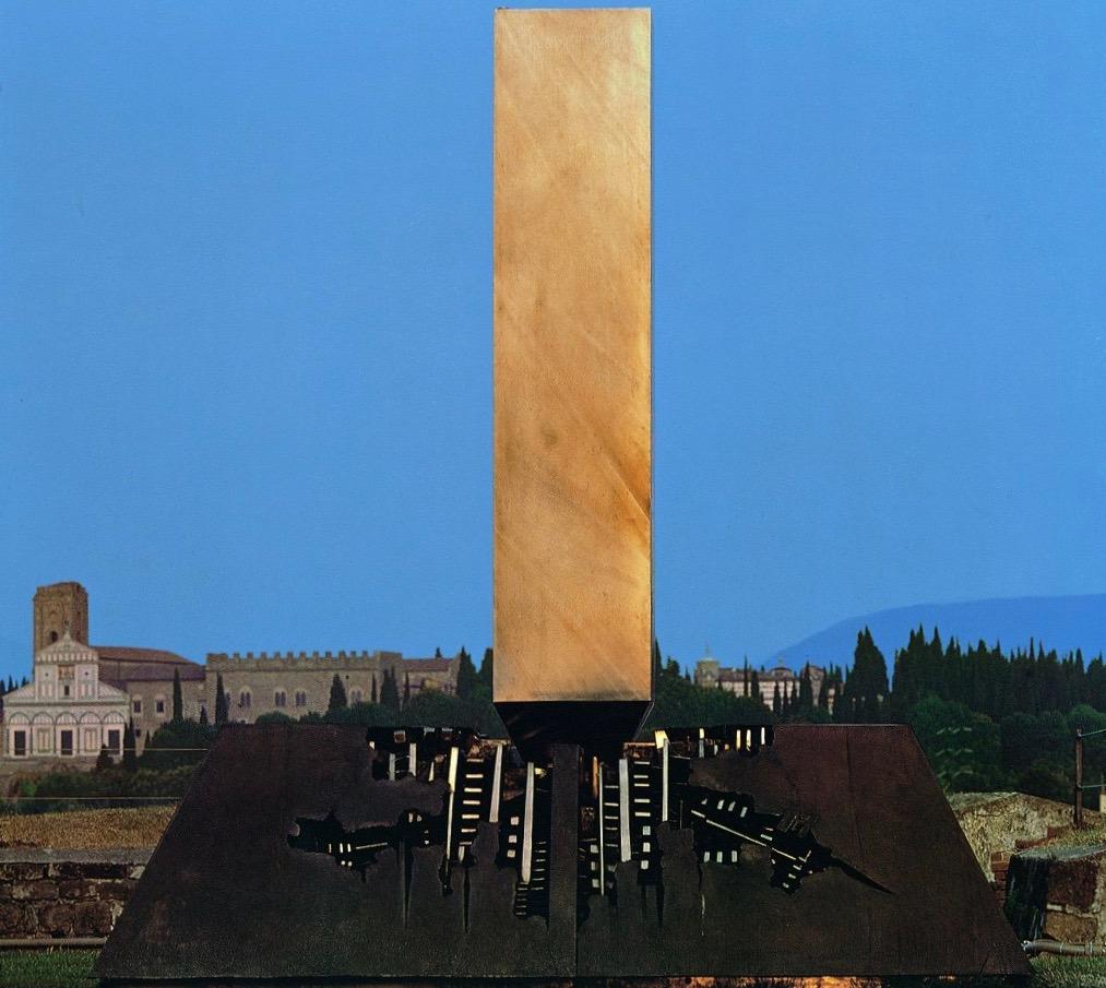 アルナルド・ポモドーロ 戦闘-パルチザンのために Una battaglia per i partigiani 1971, Modena, Italy