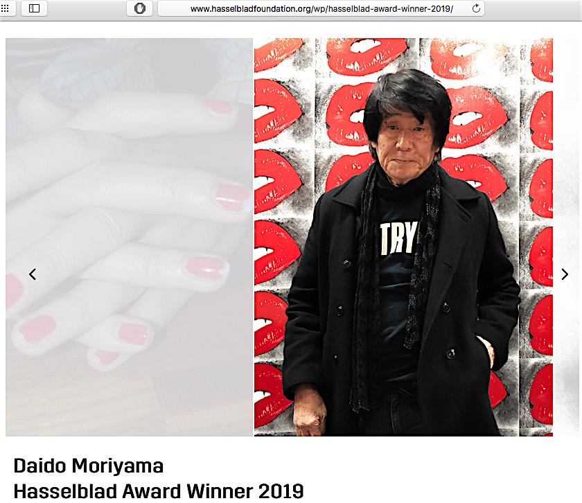 森山大道 MORIYAMA Daido 2019