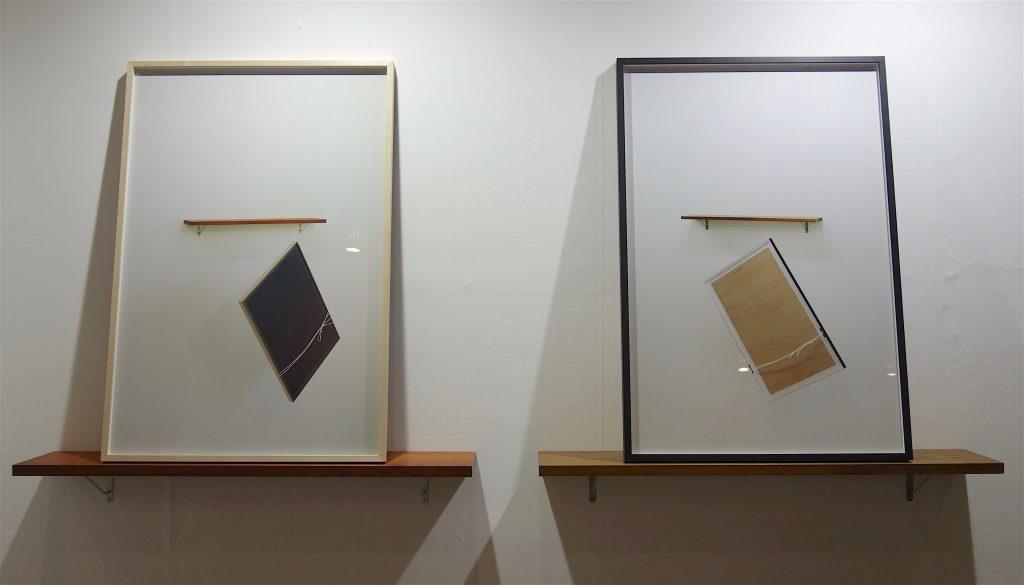 磯谷博史 ISOYA Hirofumi Lag 2+3, 2014, Framed archival pigment print, wood, metal @ AOYAMA MEGURO