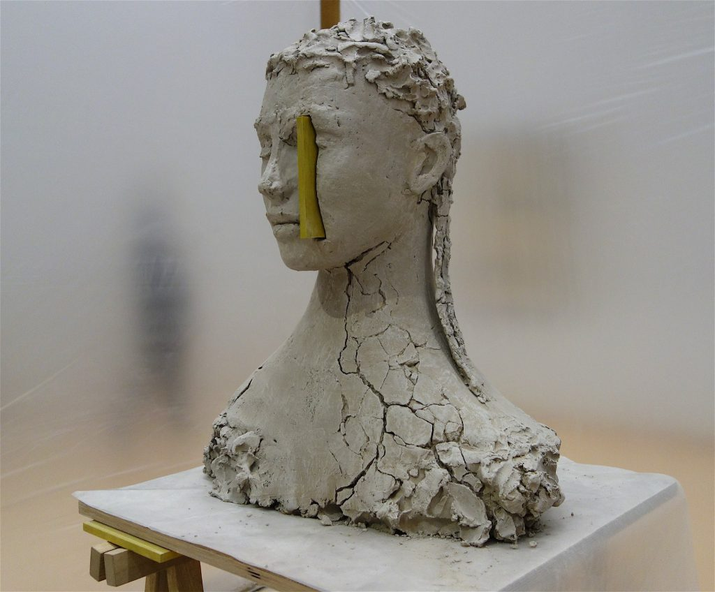 Mark Manders 'Composition with Yellow' 2017-18, detail