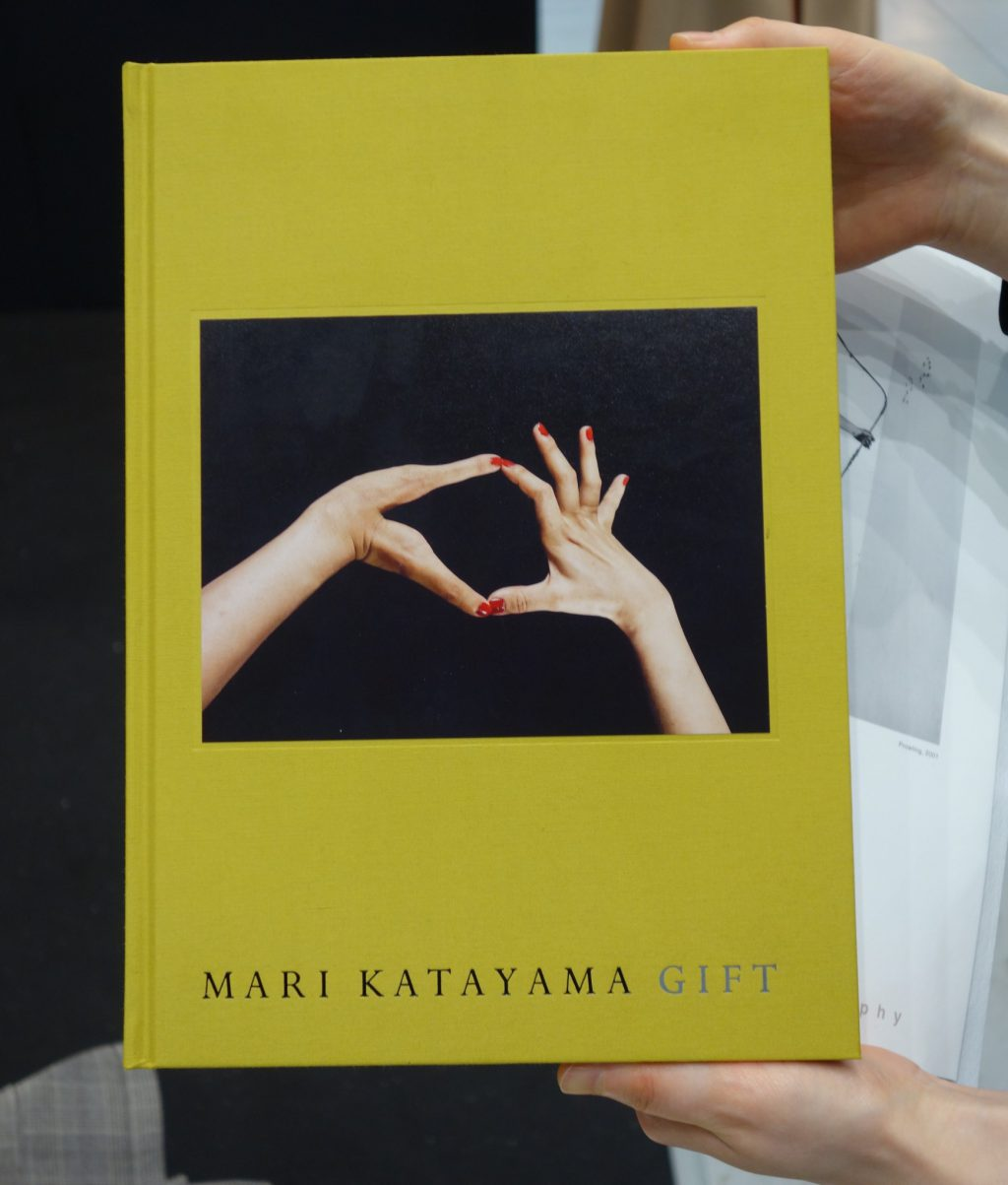 "The 1st artist book of KATAYAMA Mari ""GIFT"", highly recommending!"