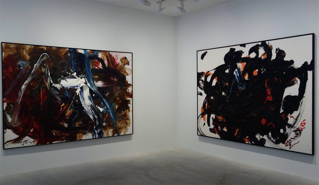 白髪一雄 SHIRAGA Kazuo @ Fergus McCaffrey, Tokyo, exhibition view
