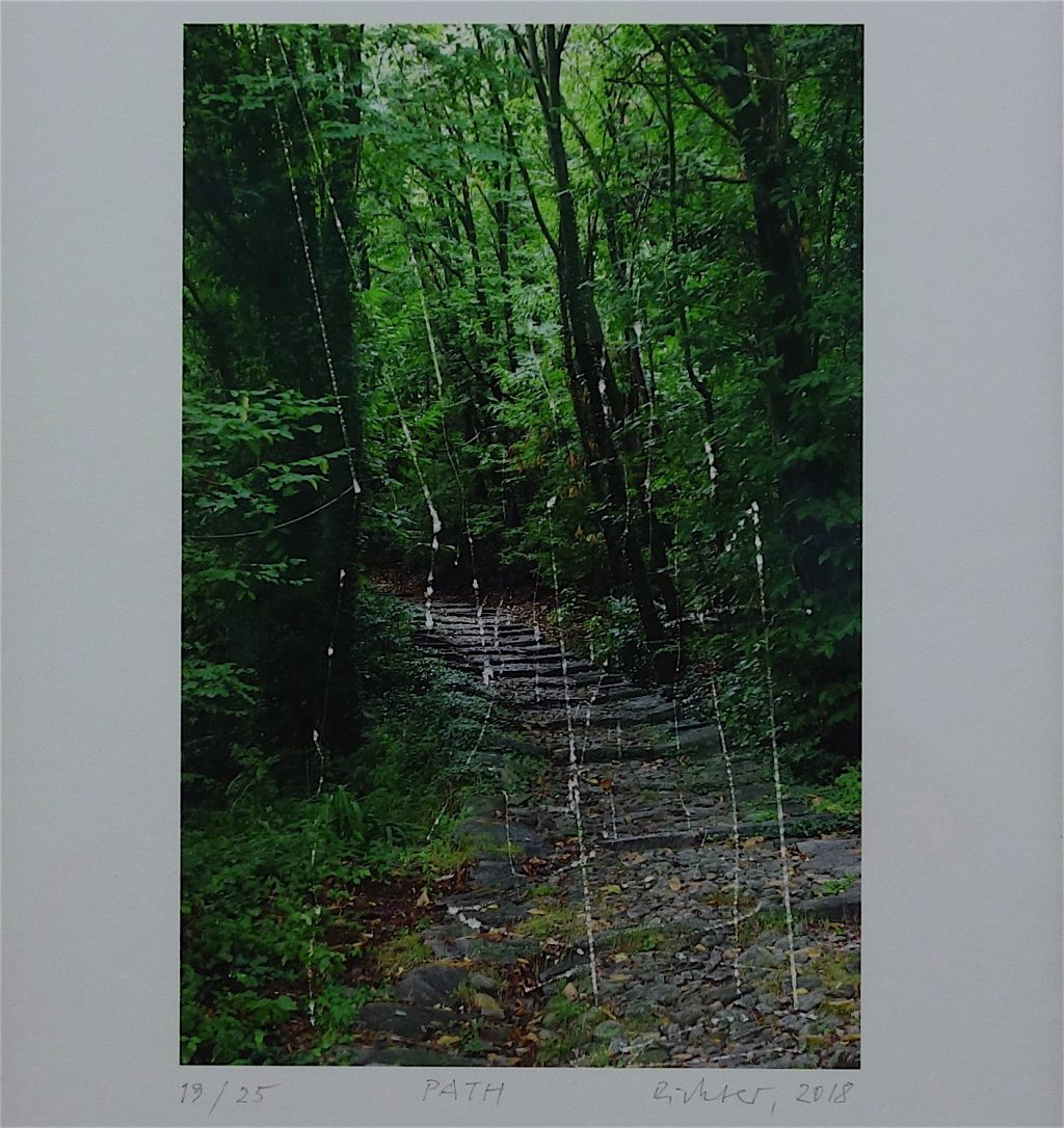 Gerhard Richter 'PATH' 2018, unique edition series, inkjet print