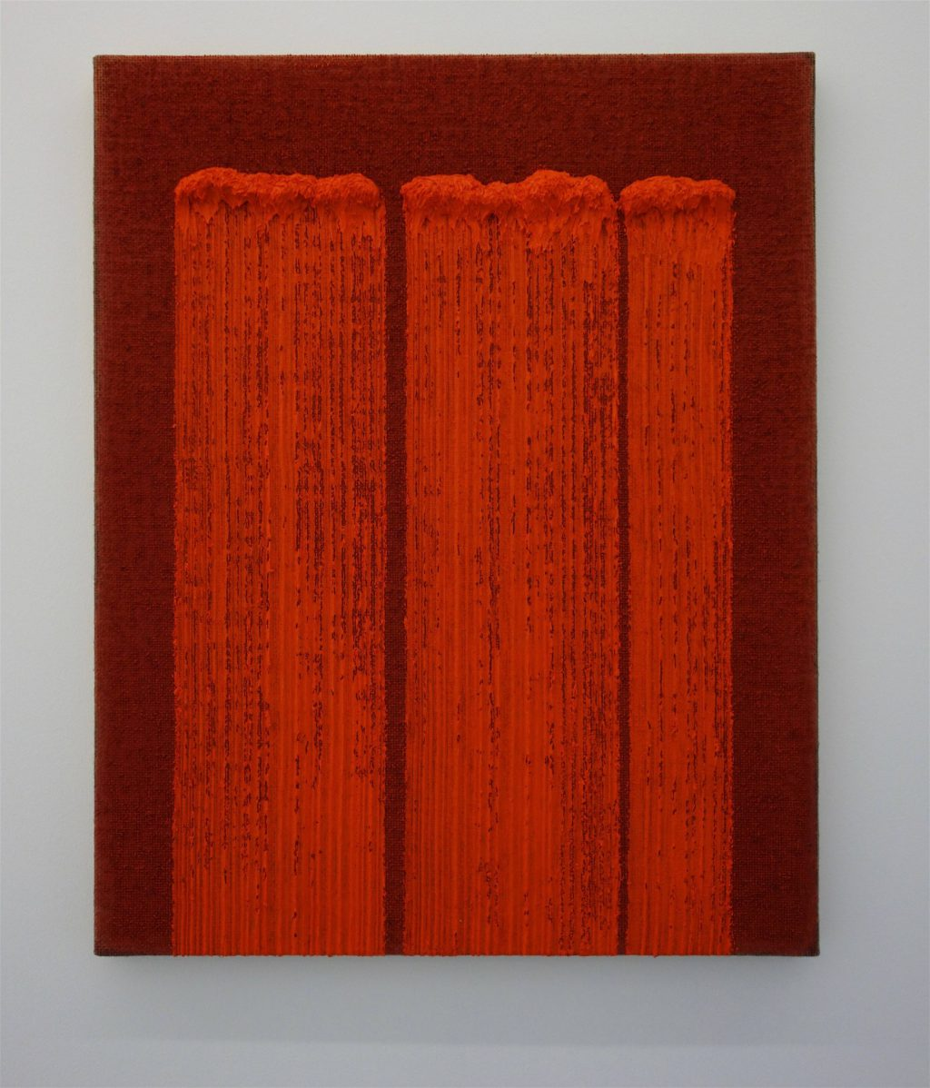 HA Chong-hyun 'Conjunction 18-07' 2018, Oil on hemp, 91 x 73 cm
