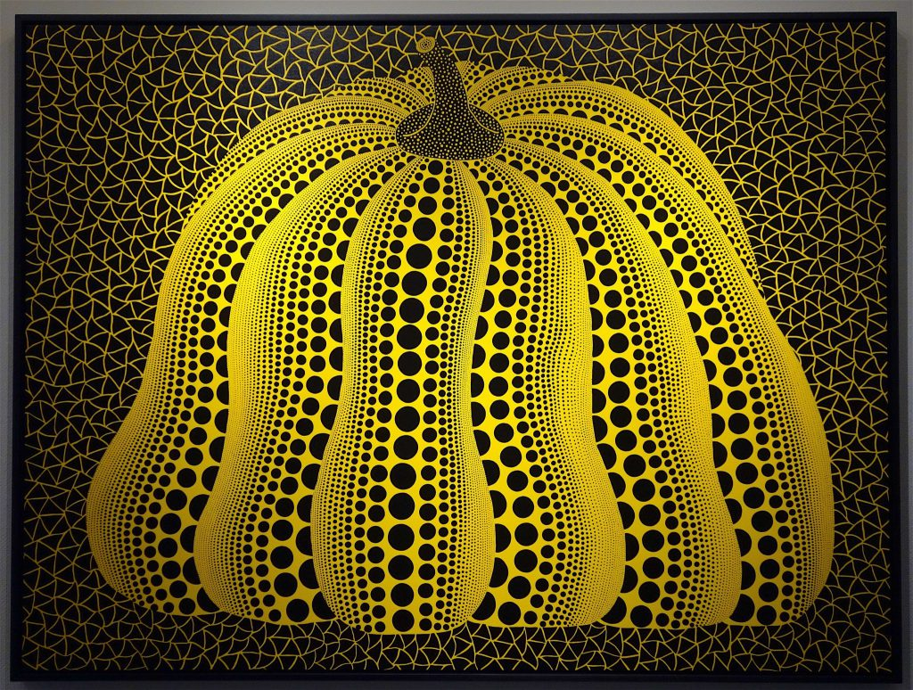 KUSAMA Yayoi 草間彌生 南瓜 Pumpkin 2015 Acrylic on canvas, 194 x 259 cm