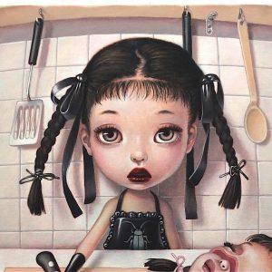 人気のある「日本アーティスト」 トレヴァー・ブラウン個展「la nursery noire」