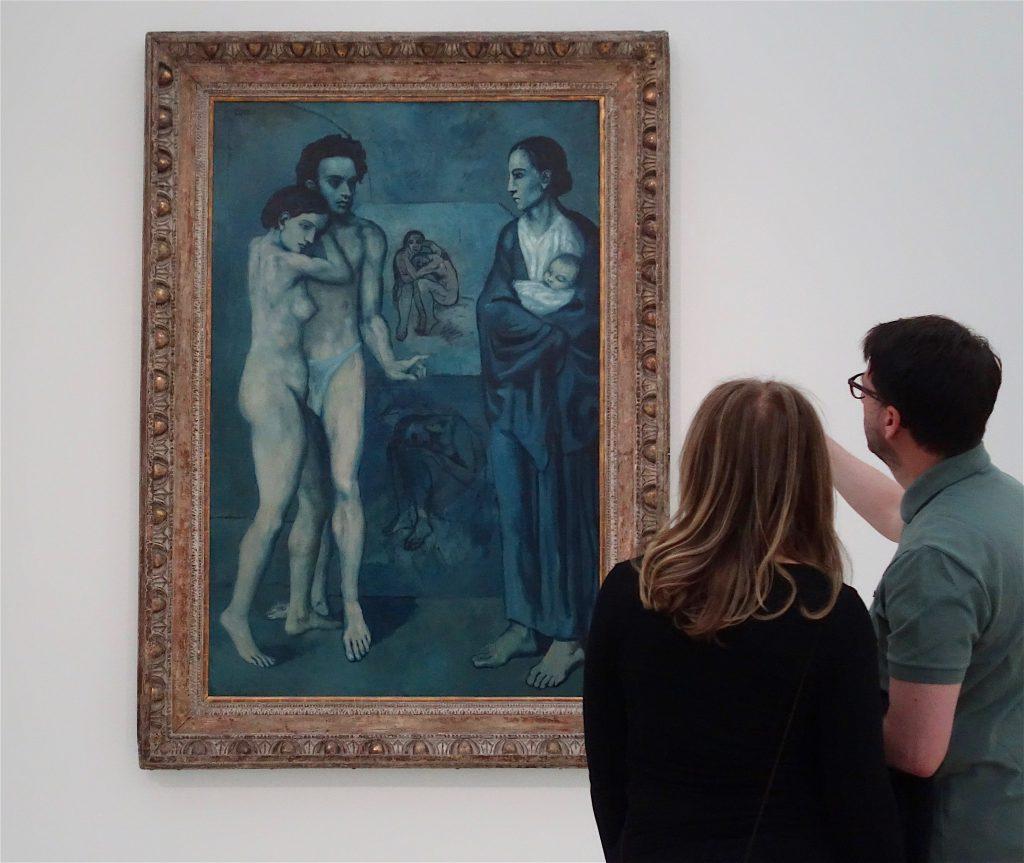 Pablo Picasso La Vie 1903 @ Fondation Beyeler