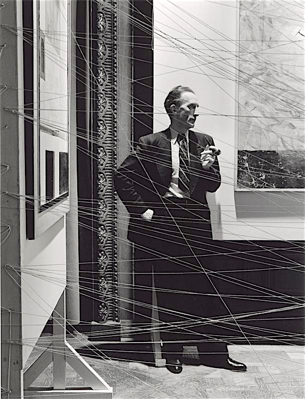 Marcel Duchamp マルセル・デュシャン, the father of creative curating, 1942