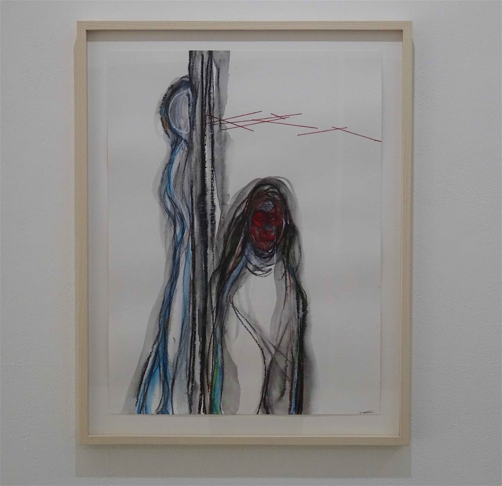 SHIOTA Chiharu 塩田千春作 @ Kenji Taki Gallery ケンジタキギャラリー 2018