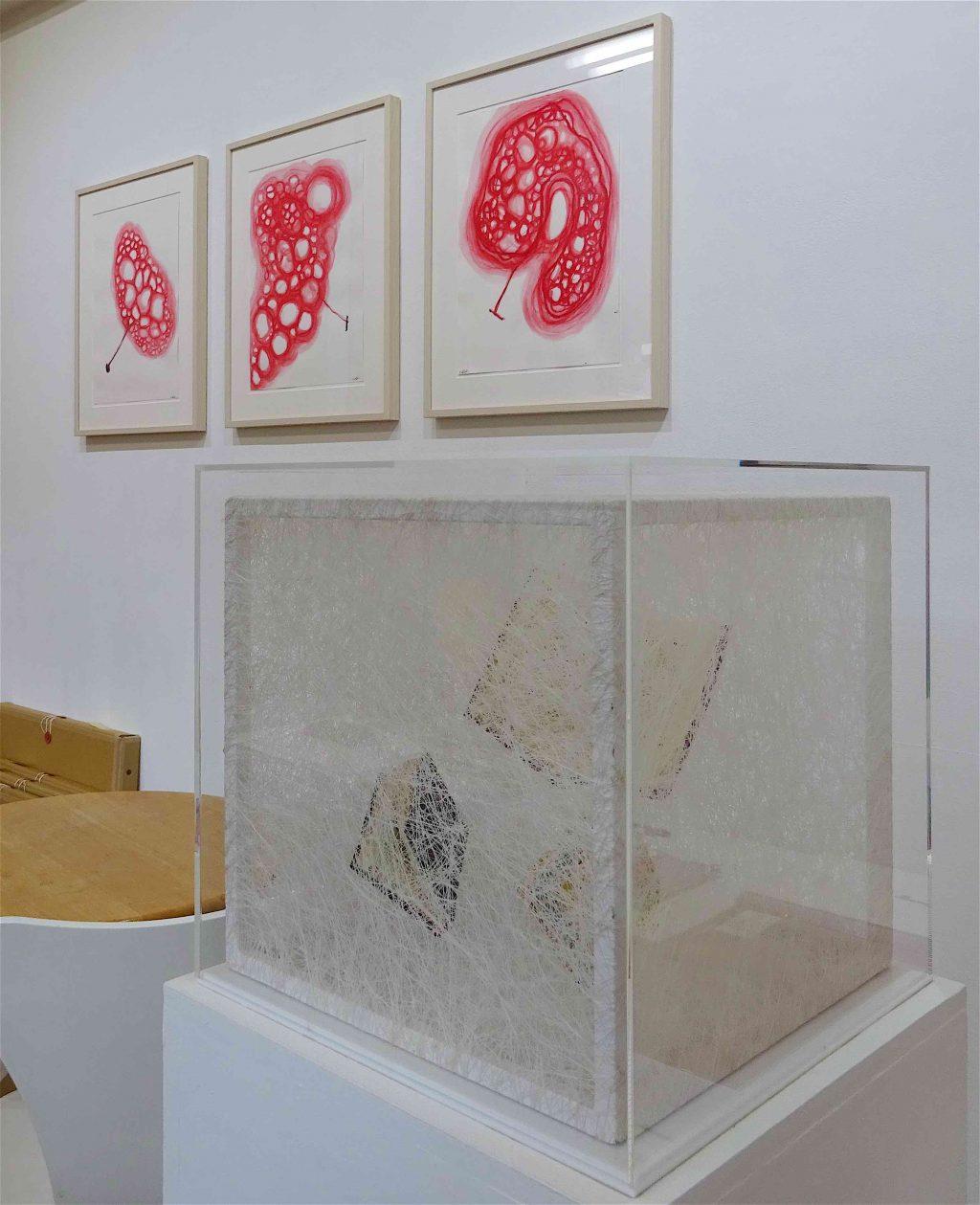 Works by SHIOTA Chiharu 塩田千春作 @ Kenji Taki Gallery ケンジタキギャラリー 2018