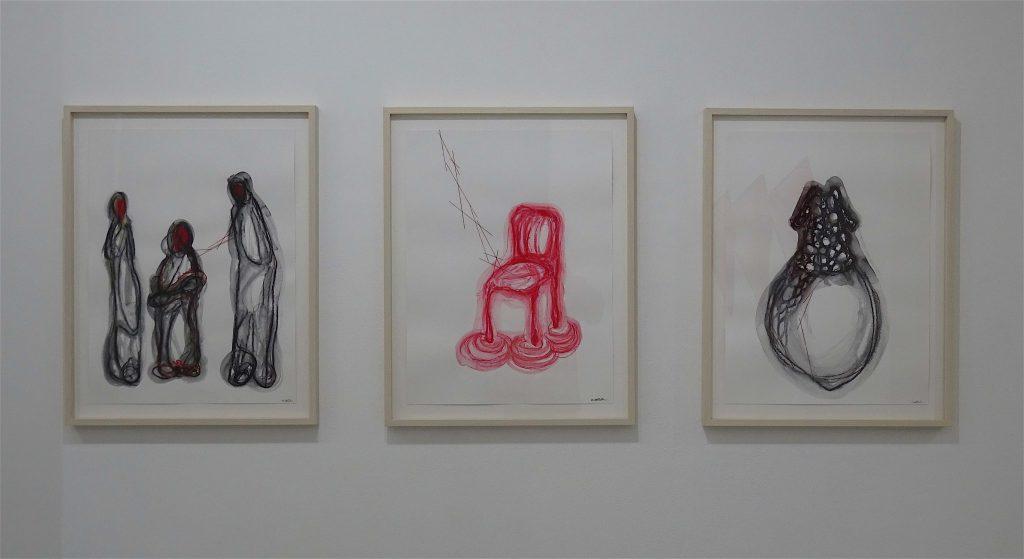 Works by SHIOTA Chiharu 塩田千春 @ Kenji Taki Gallery ケンジタキギャラリー 2018
