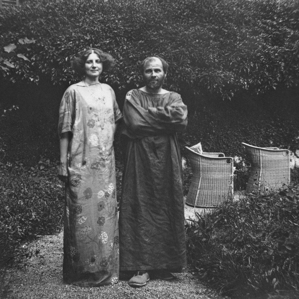 グスタフ・クリムト Gustav Klimt & Emilie Flöge