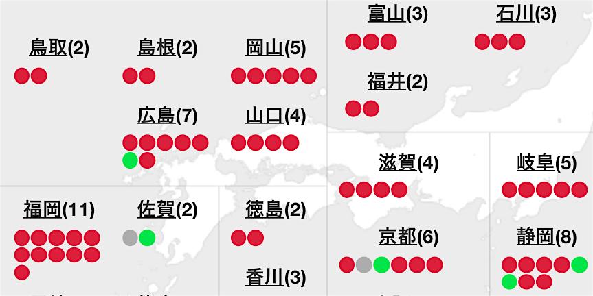 中国・四国、九州地方の時代遅れ、保守系の政治家たち