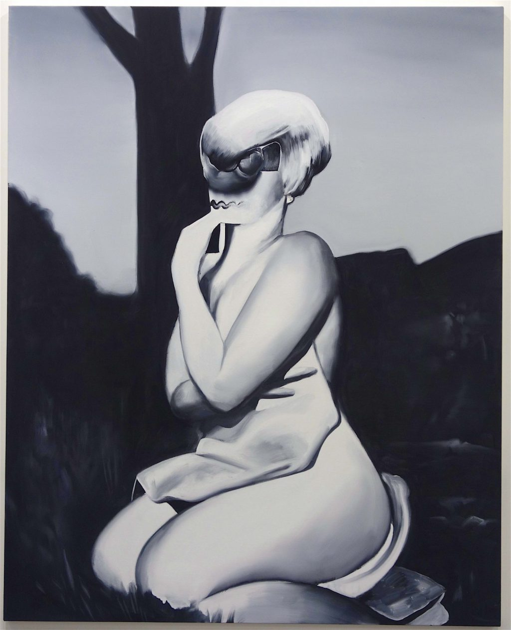 "五木田 智央 GOKITA Tomoo ""I Hadn't Anyone Till You"" 2019, sold on the first day for US$ 175.000 @ Blum & Poe"