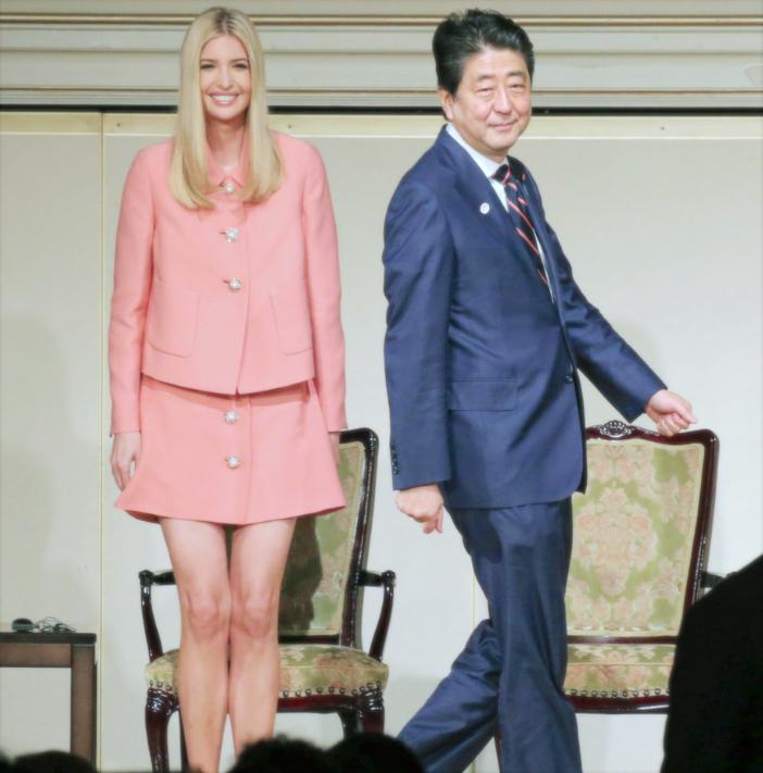 安倍首相+イヴァンカ・トランプ PM Abe + Ivanka Trump in Japan
