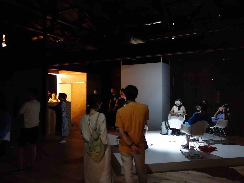 "小泉明郎 KOIZUMI Meiro ""Sacrifice"" 2018 VR installation, 34 min"