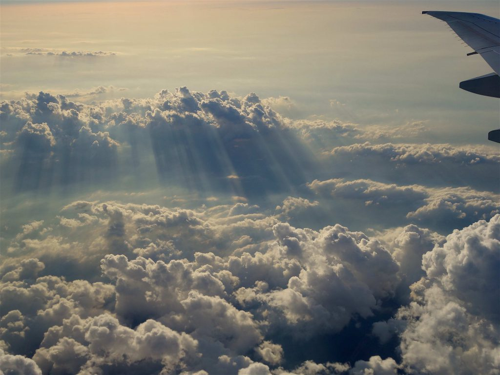 先月、チューリッヒから東京への帰りのフライトで
