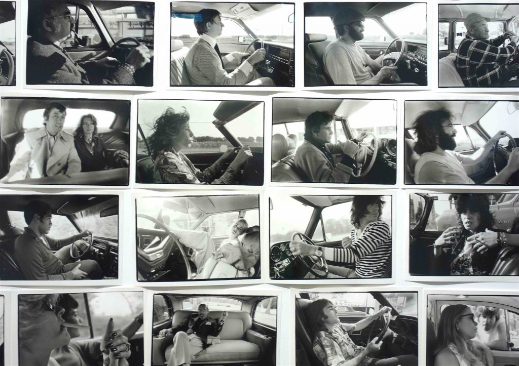 "Annie Leibovitz ""Driving Series (1970–1984)"" 2019, ART BASEL 2019"