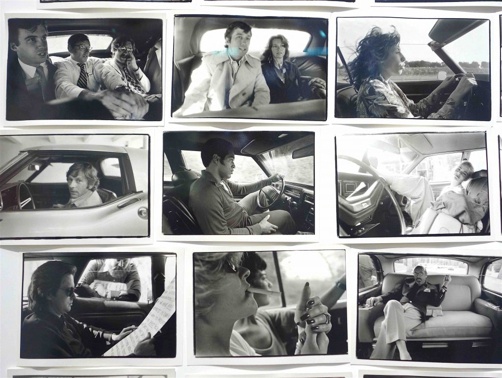 "Annie Leibovitz ""Driving Series (1970–1984)"" 2019, detail"