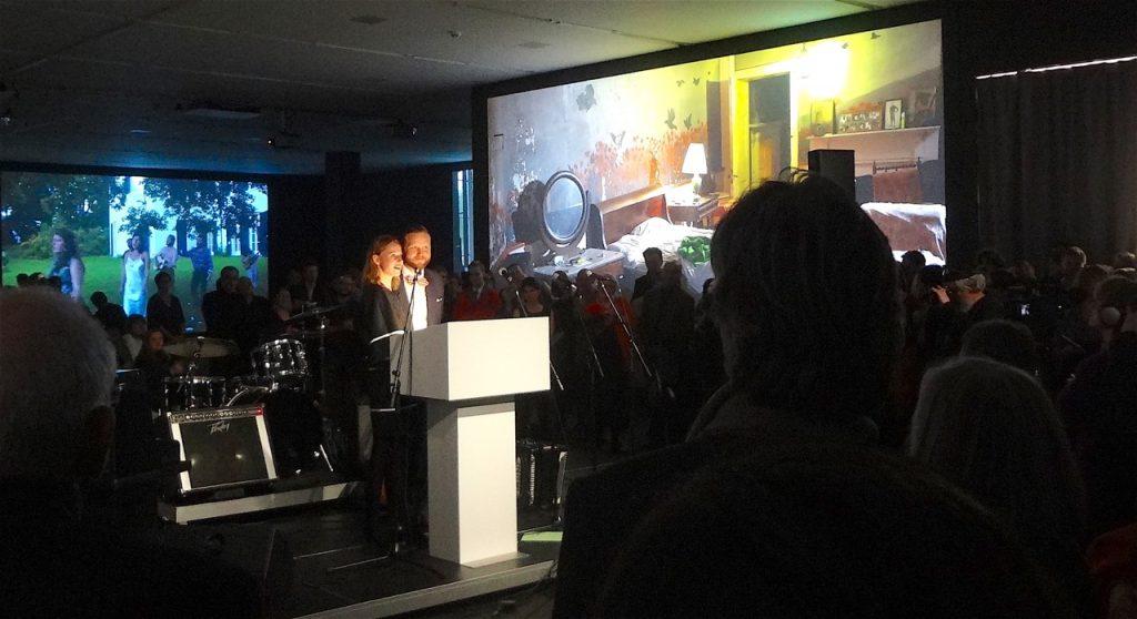 Heike Munder + Ragnar Kjartansson @ New Opening of MIGROS MUSEUM, 16.11.2012