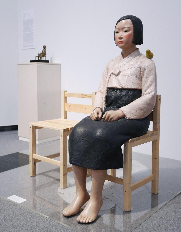 """検閲された「平和の少女像」Censored """"Statue of a Girl of Peace"""" @ Aichi Triennale 2019"""
