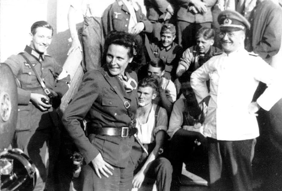 Fascist Leni Riefenstahl